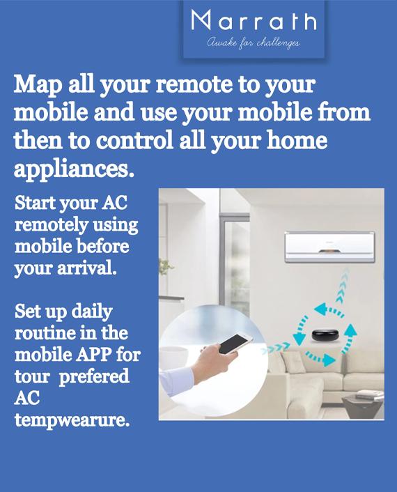 Marrath Smart WiFi Universal Remote