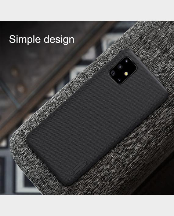 Nillkin Samsung A51 Super Frosted Shield Protection Case Black