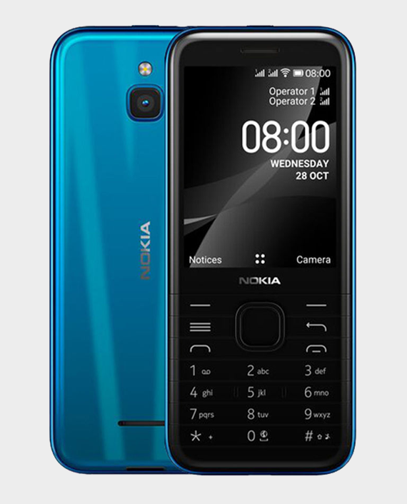 Nokia 8000 DS 4G Blue in Qatar