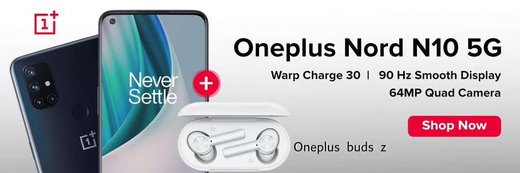 Oneplus Nord N10 5G 6GB 128GB – Midnight Ice