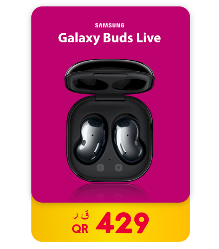 Samsung Galaxy Buds Live – Mystic Black