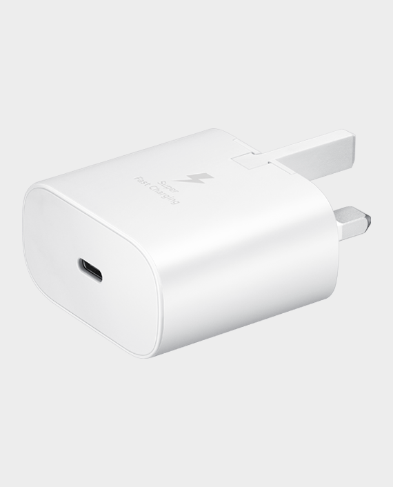 Samsung USB-C 25W Home Adapter White in Qatar
