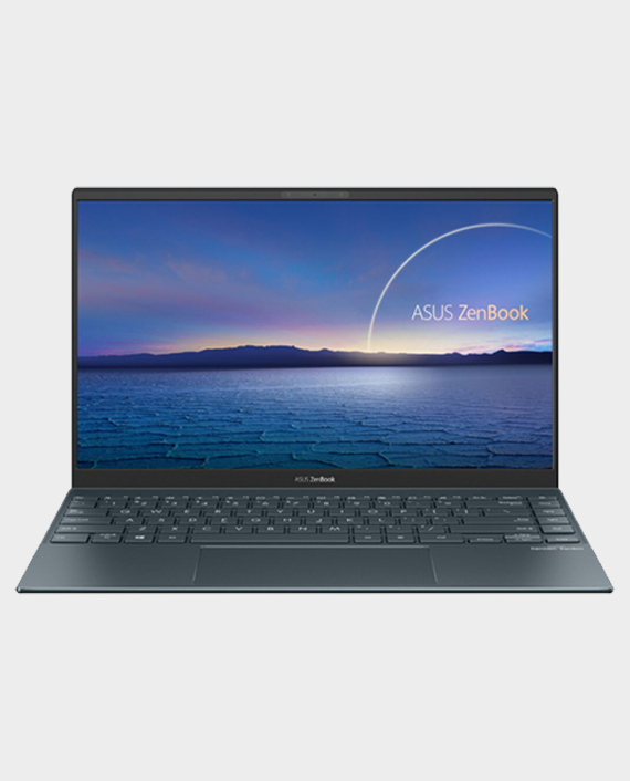 ASUS ZenBook 14 UX425-HM053T / Intel Core i5-1135G7 / 8GB RAM / 512GB SSD / 14-inch / Windows 10 Pine Grey in Qatar