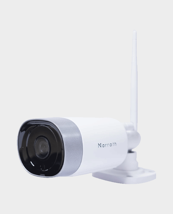 Marrath Smart WiFi HD Weatherproof Indoor / Outdoor Plug and Play CCTV Camera with Motion Detection in Qatar