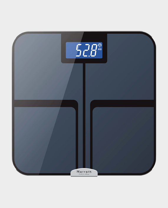 Marrath Smart WiFi Digital Electronic Body Fat Weighing Scale in Qatar