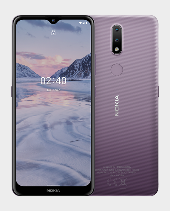 Nokia 2.4 DS 3GB 64GB Purple in Qatar