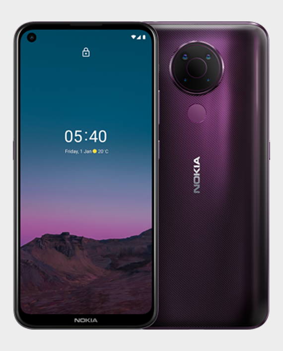Nokia 5.4 4GB 128GB Dusk/Purple in Qatar
