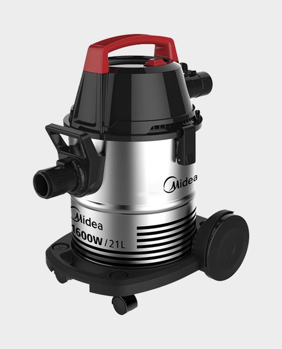 Midea VTW21A15T 21L Wet & Dry Drum Type Vacuum Cleaner 1600W in Qatar
