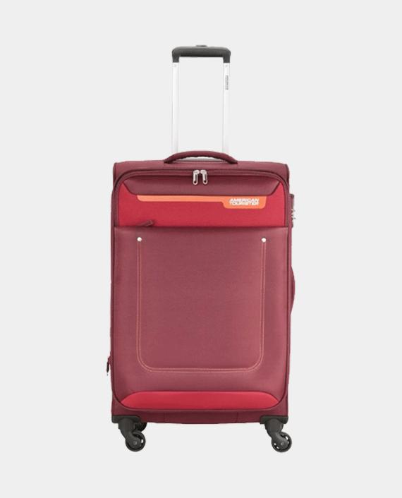 American Tourister GAT104LUG03418 57cm Jackson Soft Case Trolley Bag Maroon in Qatar