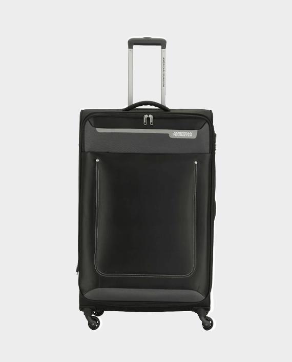 American Tourister GAT104LUG03424 57cm Jackson Soft Case Trolley Bag Black in Qatar