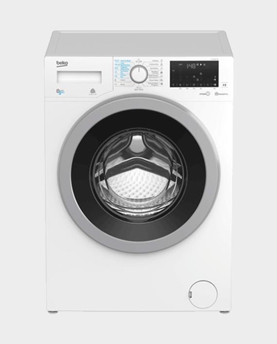 Beko HTV8636XS Front Load Washer & Dryer - 8/5Kg in Qatar