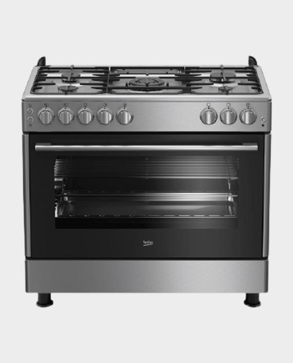 Beko GG15125GX 90X60 5 Burner Gas Cooker