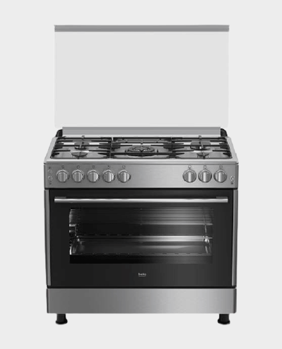 Beko GG15125GX 90X60 5 Burner Gas Cooker in Qatar