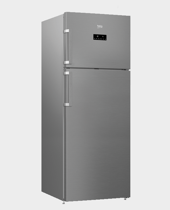 Beko RDNE550K21ZPX Fridge Freezer 505L in Qatar
