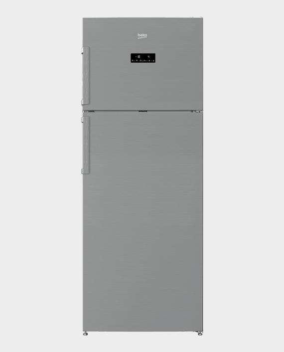 Beko RDNE550K21ZPX Fridge Freezer 505L Silver