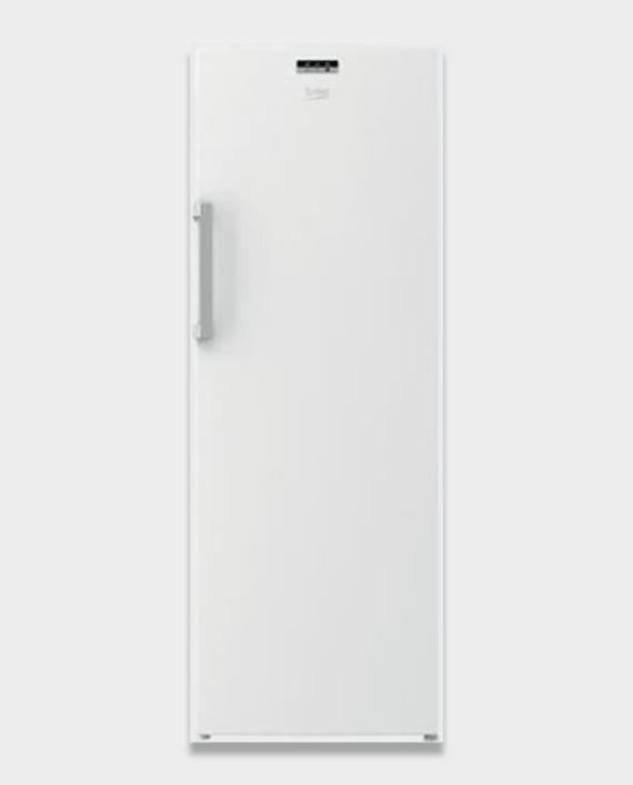 Beko RFNE320L24W Upright Freezer 320L White