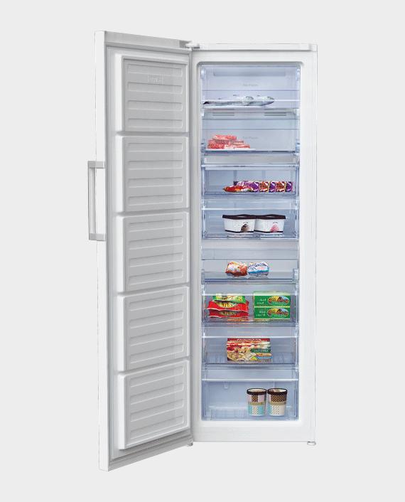 Beko RFNE350E23W Upright Freezer 350L White