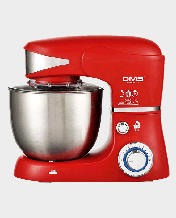 DMS KM-1500 Food Processor Mixing Machine 5 Litres Red in Qatar