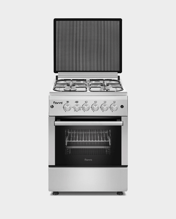Ferre FR-N60X60G4SS 60x60 4 Burner Cooking Range in Qatar