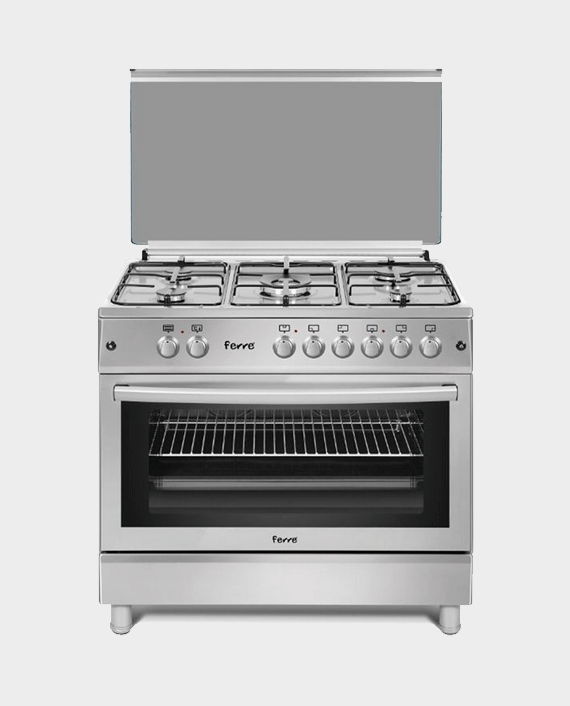 Ferre FR-E60X90E5 90x60 5 Burner Cooking Range in Qatar