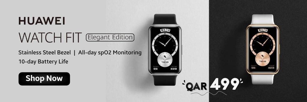 Huawei Watch Fit in Qatar