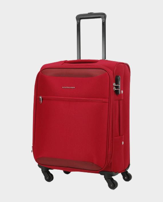 Kamiliant Zaka Soft Trolley Bag 56cm Maroon in Qatar