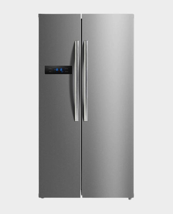 Midea HC689WEN(SS) Side by Side Refrigerator 689L