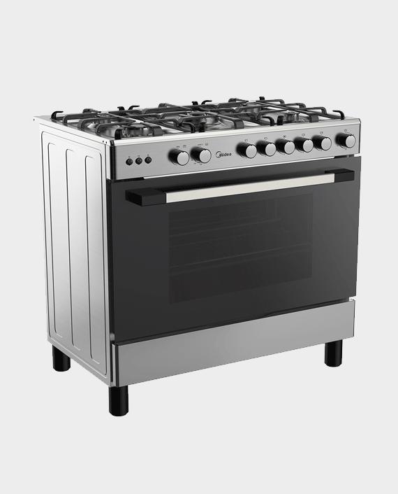 Midea LME95030-FFD 90X60cm Gas Cooker in Qatar