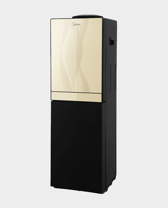 Midea YL1836S Water Dispenser with Refrigerator Gold & Black in Qatar
