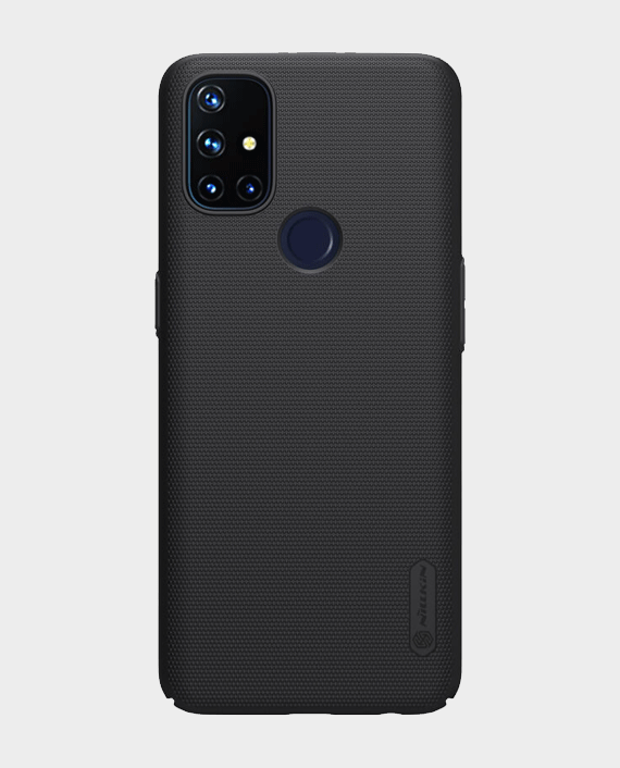 Nillkin Oneplus Nord N10 Super Frosted Shield Back Case Black