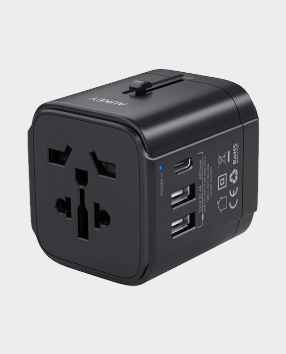 Aukey TA01B Universal Travel Adapter in Qatar