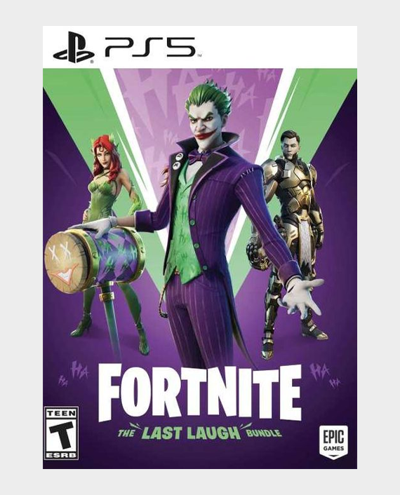 PS5 Fortnite : The Last Laugh Bundle in Qatar