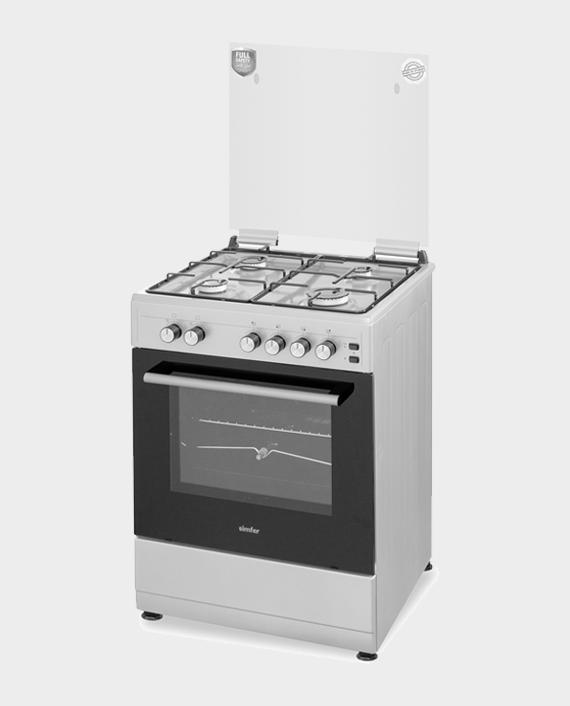 Simfer 6055SG Cooking Range 60x55 4 Burner in Qatar