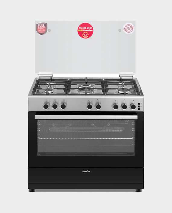 Simfer Cooking Range 9060SG 90x60 5Burner in Qatar
