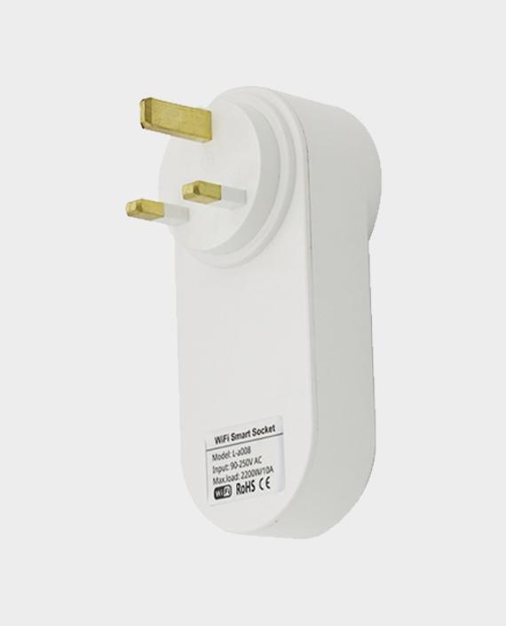 Porodo Lifestyle Dual USB-Port Smart Wifi Plug UK 16A