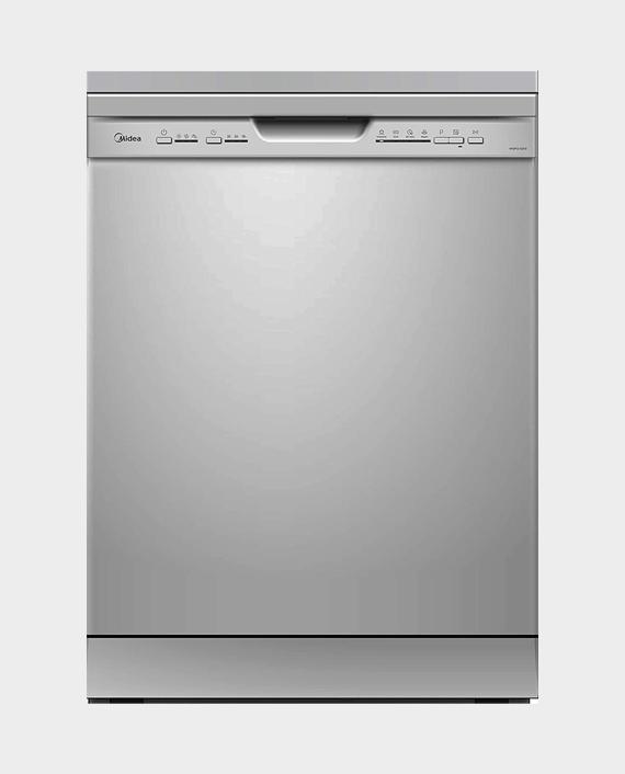 Midea WQP12-5203-S Freestanding Dishwasher Silver in Qatar