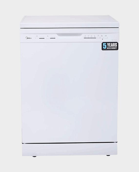 Midea WQP12-5203-W Freestanding Dishwasher White
