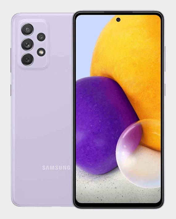 Samsung Galaxy A72 8GB 128GB Awesome Violet in Qatar