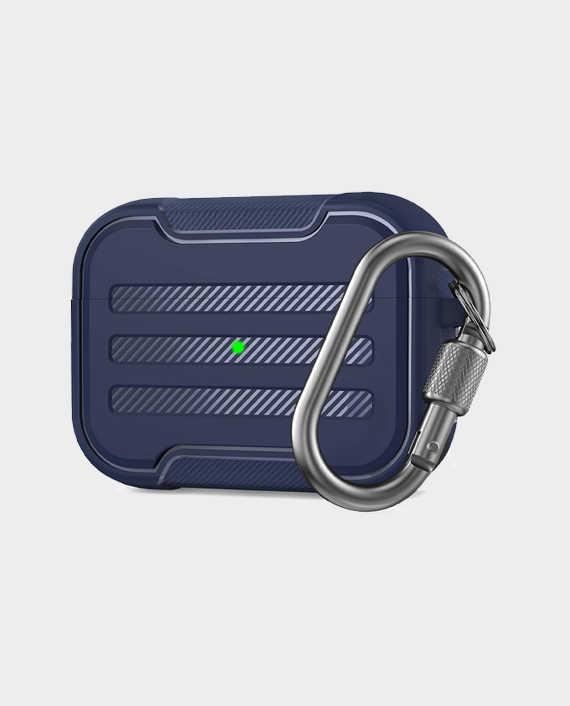 Ahastyle Rugged Armour Protection Case For Airpods Pro Midnight Blue in Qatar