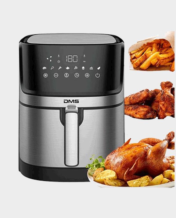 DMS 6L HF-6E Hot Air Fryer Deep Fryer Hot Air Oven Fryer Digital Stainless Steel