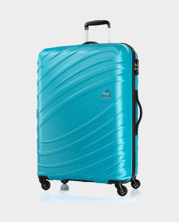 Kamiliant Siklon Spinner Storm 78cm Hard Case Trolley Bag Ocean Blue in Qatar
