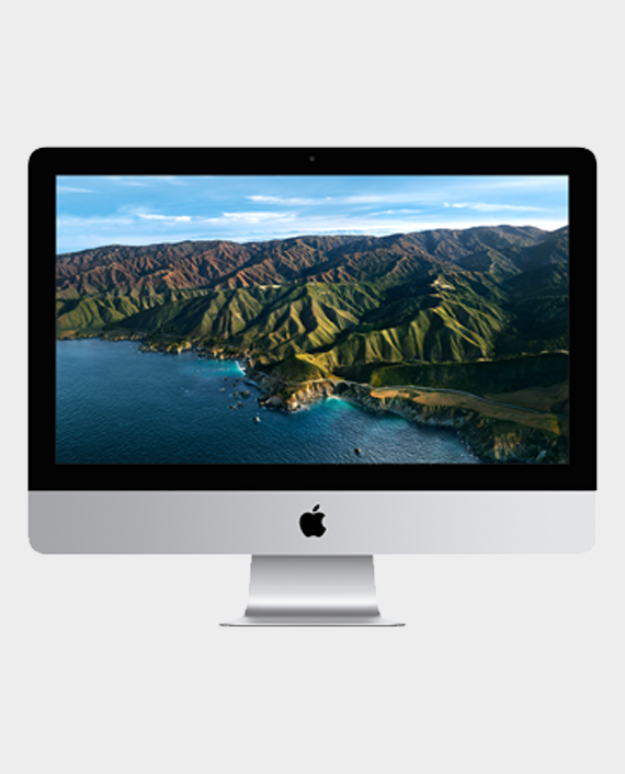 Apple iMac MHK23 3.6GHz / Intel Core i3 / 8GB / 256GB SSD / 21.5 Retina 4K Display Silver in Qatar