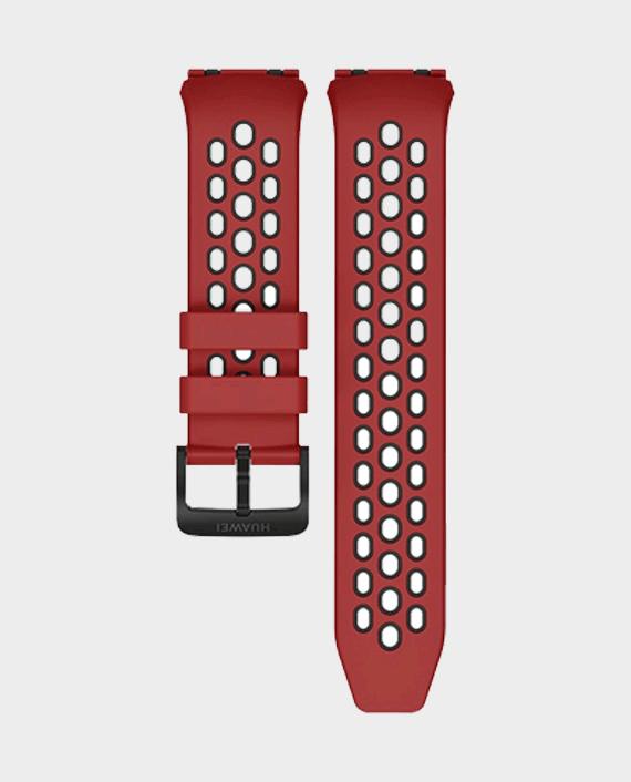 Huawei Watch Gt 2e TPU Strap Red/Black in Qatar