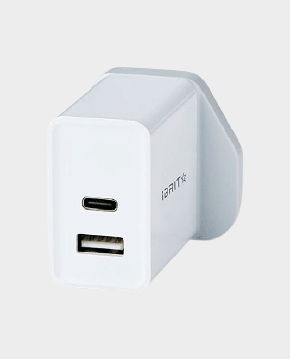 iBRIT Casa P2 Dual-Port USB Wall Charger in Qatar