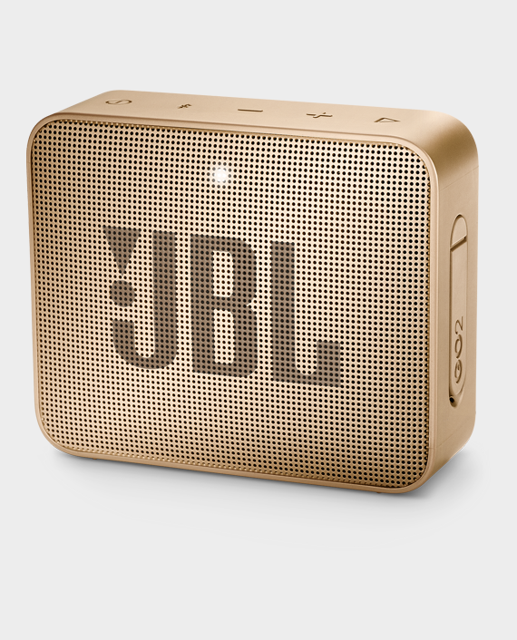 JBL Go 2 Portable Bluetooth Speaker Champagne Gold