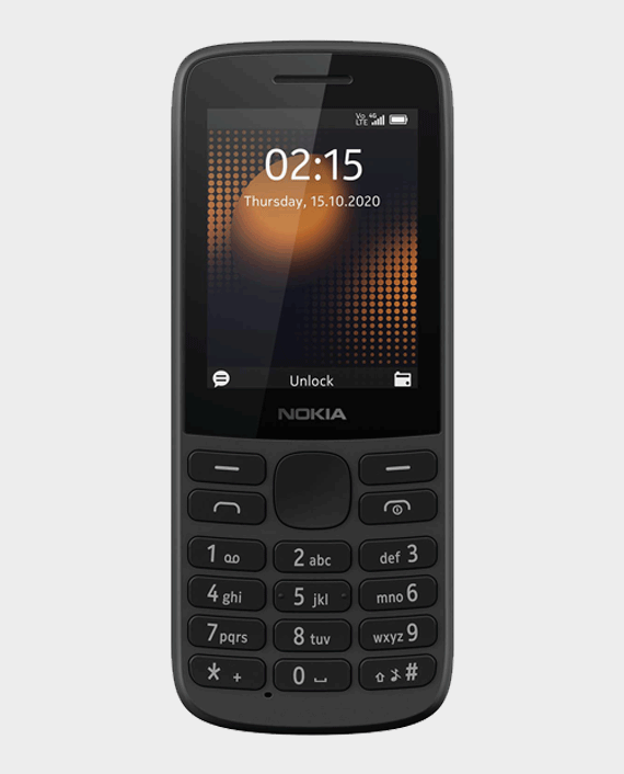 Nokia 215 DS 4G Black in Qatar