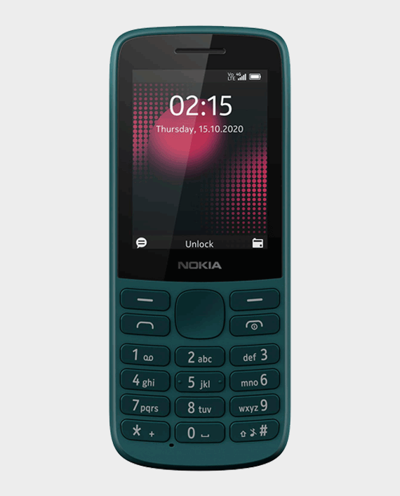 Nokia 215 DS 4G Cyan Green in Qatar