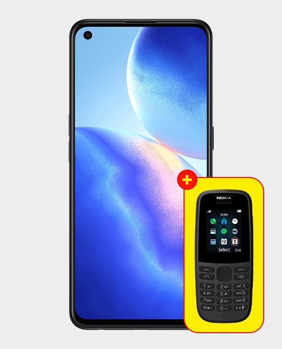 Oppo Reno 5 5G 8GB 128GB Galactic Silver in Qatar