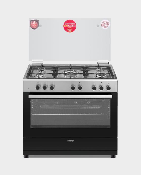 Simfer 9060SE 90x60 5Burner Cooking Range in Qatar