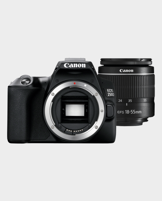 Canon EOS 250D + EF-S 18-55mm f/3.5-5.6 III Lens